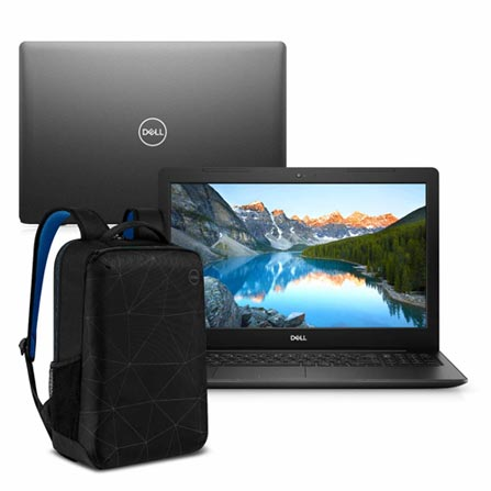 "Notebook - Dell I15-3584-ms3pb I3-7020u 2.30ghz 4gb 128gb Ssd Intel Hd Graphics 620 Windows 10 Home Inspiron - C/ Mochila 15,6"" Polegadas"