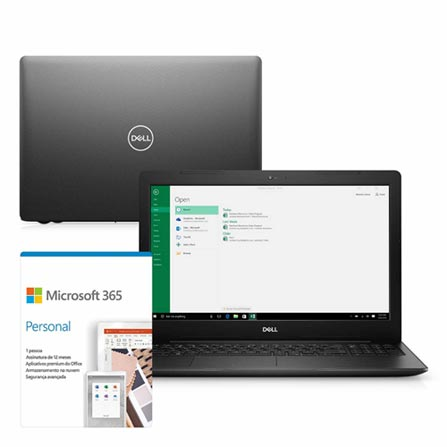 Notebook - Dell I15-3583-mfs1pf I5-8265u 1.60ghz 8gb 256gb Ssd Intel Hd Graphics 620 Windows 10 Home Inspiron 15,6
