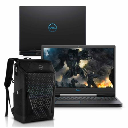 "Notebookgamer - Dell G5-5590-m70bp I7-9750h 2.60ghz 16gb 512gb Ssd Geforce Gtx 1660 Ti Windows 10 Home Gaming 15,6"" Polegadas"