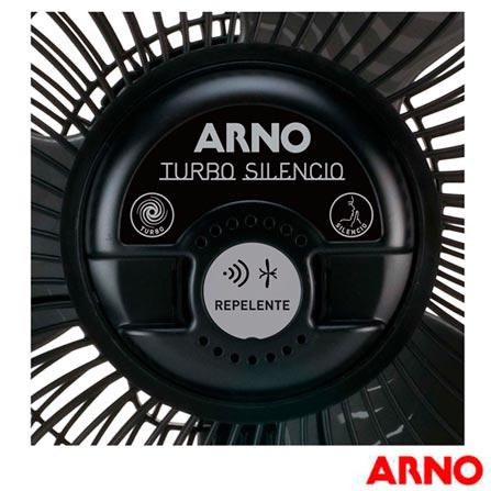 Circulador de Ar Arno, Preto - CC95, 110V, 220V, Preto