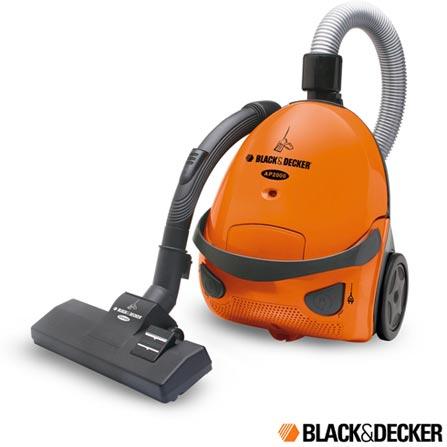 Aspirador de Pó 1400W com Filtro Lavável Black&Decker- AP2000, 110V, 220V