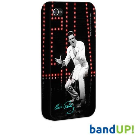 Capa de iPhone 4 / 4s Elvis Show Bandup, Plástico, Colorida, 3 meses