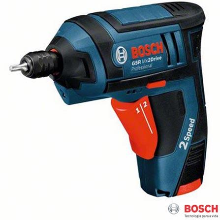 Parafusadeira a Bateria Drive Professional Azul Bosch - GSR Mx2, 110V