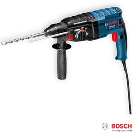 Martelete Perfurador Rompedor 800W Azul Bosch - GBH 2-24 D, 110V