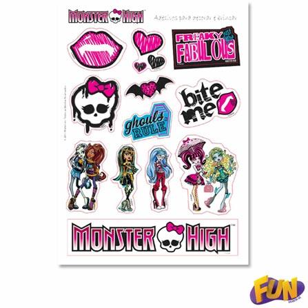 Skate com Acessórios Monster High Fun – 72959