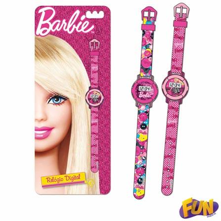 Relógio da Barbie Digital Barão Toys Fun - 73477
