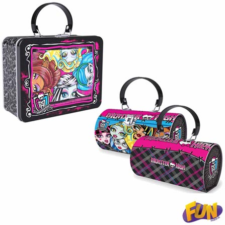 Bolsa Metálica Monster High Barão Toys Fun - 73798