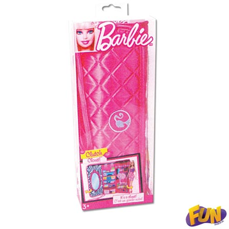 Closet Bolsa Fashion da Barbie – Fun, 3 meses