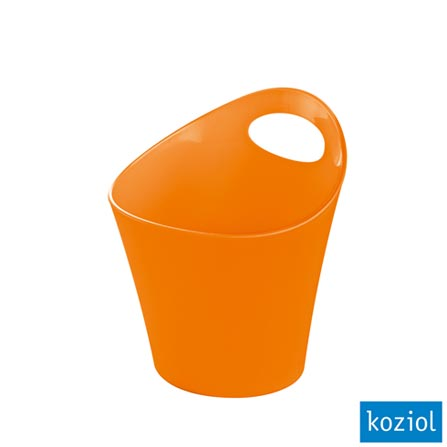 Organizador Plástico Pottichelli XS 3 Litros Koziol Laranja - 2839521