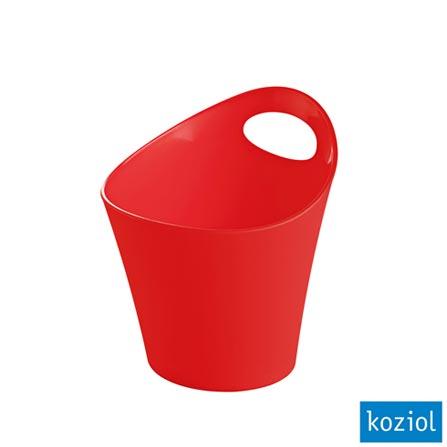 Organizador Plástico Pottichelli XS 3 Litros Koziol Morango - 2839555