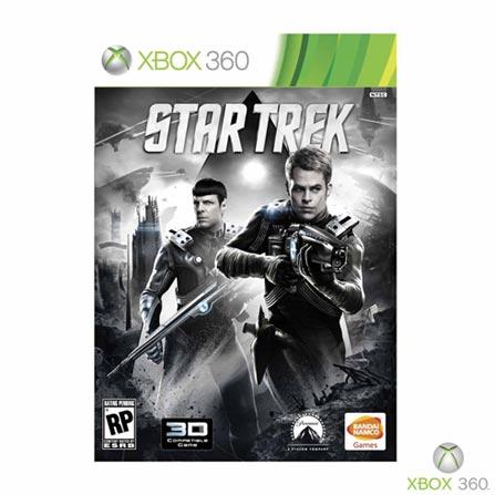 Jogo Star Trek para Xbox 360, Não se aplica, Xbox 360, Ação, DVD, 16 anos, Não especificado, Não especificado, 03 meses