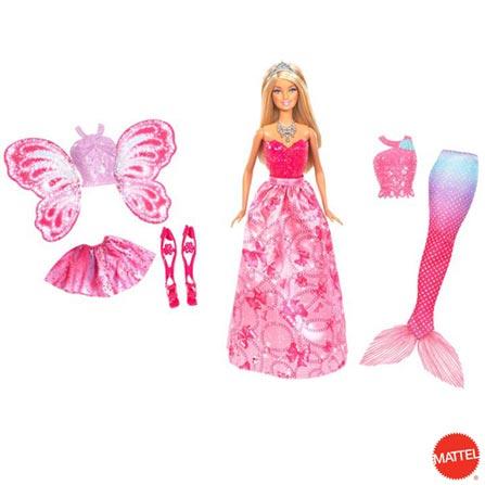 Barbie Mundo de Fantasia, BQ, Plástico, 3 meses