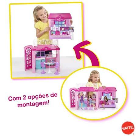 Barbie Real Casa de Férias com Boneca – Mattel, BQ, Plástico, 3 meses