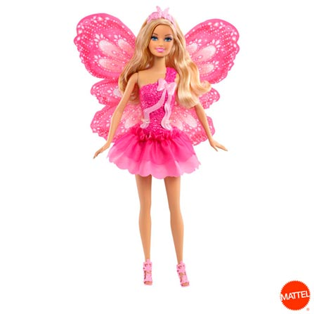 Barbie Fada Mix Match – Mattel, BQ, Plástico, 03 meses