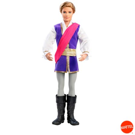 Barbie e as Sapatilhas Mágicas Príncipe Ken, BQ, Plástico, 03 meses