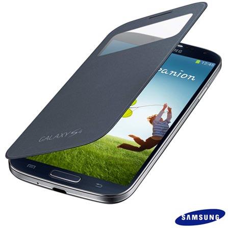 Smartphone Samsung Galaxy S4 Preto + Capa, 0, 16 GB, Octa Core, Wi-Fi + 3G, 1 ano