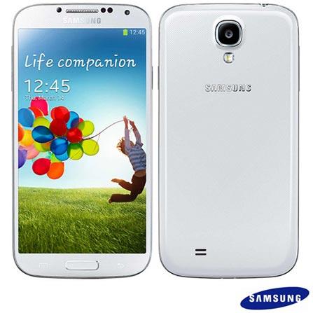 Smartphone Samsung Galaxy S4 Branco + Capa, 0, 16 GB, Octa Core, Wi-Fi + 3G, Branco, 1 ano