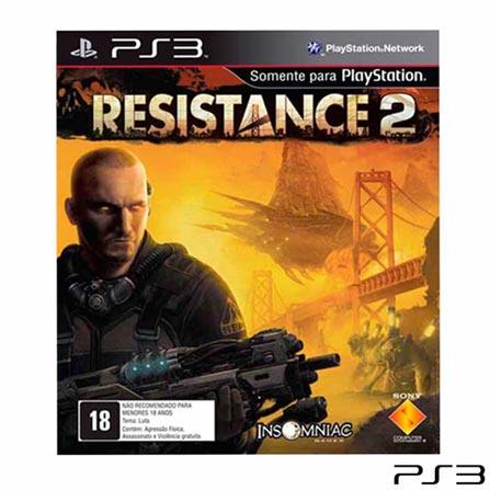 Jogo Resistance: Fall of Man + Jogo Resistance 2 + Jogo Resistance 3 para PlayStation 3 - Sony, 0, 16 anos, Tiro em Primeira Pessoa, PlayStation 3, Blu-ray, 3 meses