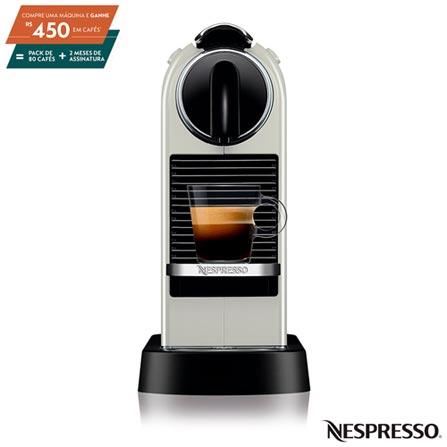 Cafeteira Expresso Nespresso Citiz Branco 110v - D113brwhne