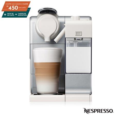 , 110V, 220V, Prata, Espresso automática, Cápsulas, 01 xícara, Café e Latte e Capuccino, Não especificado, 1400 W, 12 meses, Sim