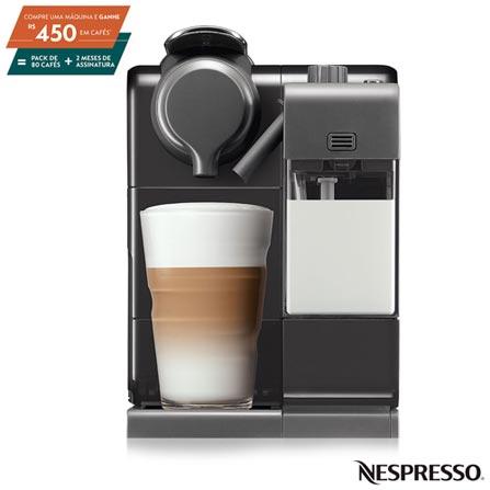 Cafeteira Expresso Nespresso Lattissima Touch Preto 110v - F521brbkne