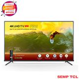 Smart TV TCL LED 4K 50' com Google Assistant, Controle Remoto com Comando de Voz e Wi-Fi - 50P8M