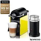 Cafeteira Nespresso Combo Pixie Clips Black and Lemon Neon para Café Espresso