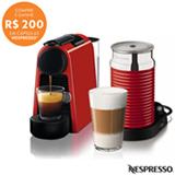 Cafeteira Nespresso Combo Essenza Mini Vermelho para Café Espresso - A3NRD30-BR