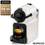 Cafeteira Nespresso Inissia Branca para Café Espresso