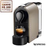 Cafeteira Nespresso U Pure Grey Cinza para Café Espresso