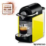 Cafeteira Nespresso Pixie Clips Black and Lemon Neon para Cafe Espresso