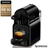 Cafeteira Nespresso Inissia Preta para Café Espresso - D40BRBKNE