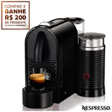 Cafeteira Nespresso Umilk Pure, Preta para Cafe Espresso