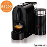 Cafeteira Nespresso Umilk Pure, Preta para Café Espresso