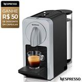 Cafeteira Nespresso Prodígio Prata para Café Espresso - D70-BR