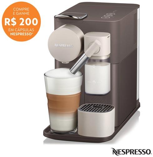 , 110V, 220V, Cinza, Espresso automática, Cápsulas, 01 xícara, Espresso, Lungo, Cappuccino e Latte Macchiato, Não especificado, 1400 W, 12 meses