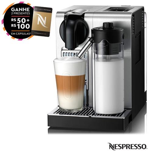 , 110V, 220V, Aço Escovado, Espresso automática, Cápsulas, 0,7 Litros, 19 Bars, 01 xícara, Café Espresso e Lungo, Plástico e Aço Escovado, 1300 W