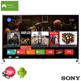 Smart TV 4K LED 3D Sony 65' Ultra Slim com Android TV, Motionflow 960Hz e Wi-Fi - XBR-65X905C
