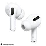 Fone de Ouvido sem Fio Apple AirPods Pro Headphones com Estojo de Carregamento Branco - MWP22BE/A