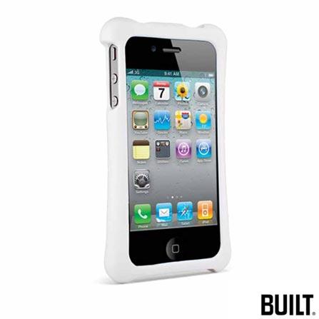 Capa para iPhone 4, Policarbonato Branco Built, Branco, 06 meses