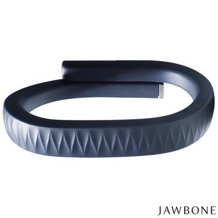 Pulseira Jawbone UP, Tamanho G Azul Marinho - R26ALGBR, SmartWatch, TPU, Azul Marinho, 03 meses