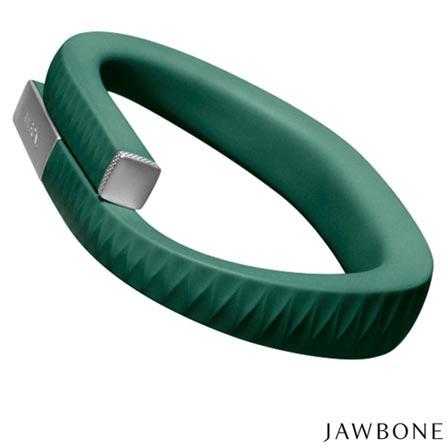 Pulseira Jawbone UP, Tamanho M Hunter Green - R28AMDBR, SmartWatch, TPU, Verde, 03 meses