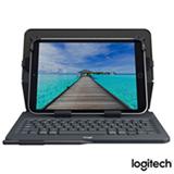 Capa com Teclado Universal Folio Logitech Preta para Tablets Android, Apple ou Windows de 10' - 920-008334