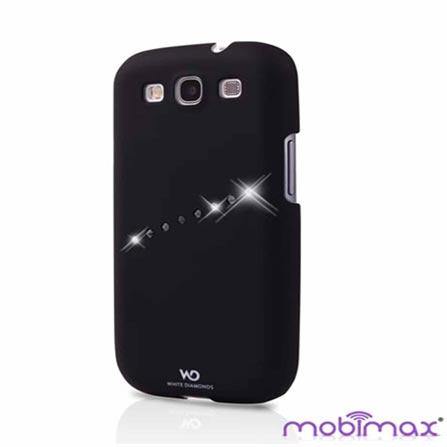 Capa Swarovski Sash Black para Samsung Galaxy SIII - Mobimax