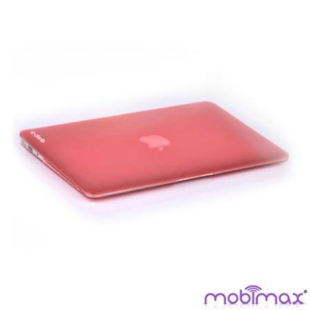 Capa Vermelho Translucido para Macbook Air 13