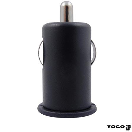 Micro Adaptador Veicular Yogo, Preto 320BLK, Bivolt, Bivolt, 06 meses