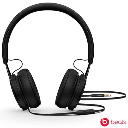 Fone de Ouvido Apple Headphone Beats EP Preto - ML992BEA, Preto, Headphone, 12 meses