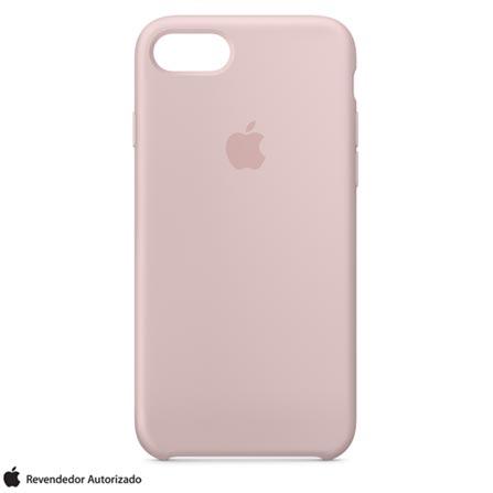 Capa Protetora para iPhone 7 de Silicone Areia Rosa - Apple - MMX12ZMA, Rosa, Capas, Cases e Mochilas, 12 meses