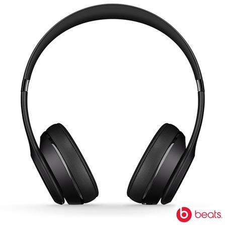 Fone de Ouvido Apple Headphone Beats Solo 3 Preto - MP582BE/A, Preto, Headphone, 12 meses
