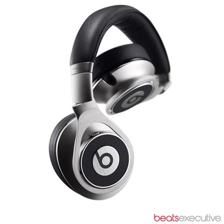 Fone de Ouvido Over Ear Executive Prata - Beats - EXECUTIVEPTA, Prata, Headphone, 12 meses